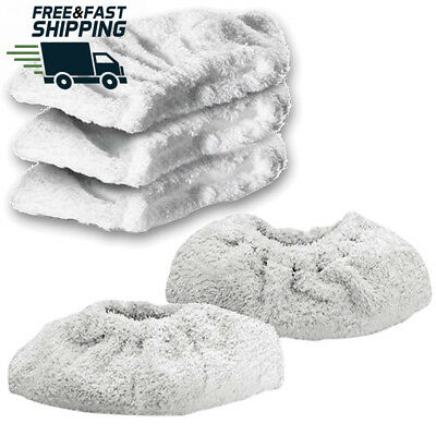Spares2go Cotton Terry Cloth Cover Pads for Karcher Steam Cleaner Hand Tool...