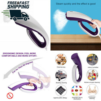 Homgrace Clothes Steamer,Hand-Held Iron With Brush Fast Heat-Up 100ml...