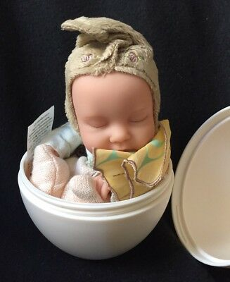 "Anne Geddes 9"" Fairy #2 Doll In Egg New In Box"