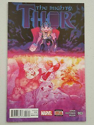 THE MIGHTY THOR  #3 - 1st PRINT  MARVEL COMICS 2016
