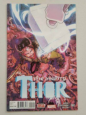 THE MIGHTY THOR  #2 - 1st PRINT  MARVEL COMICS 2016