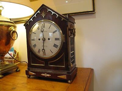 Antique Bracket Clock dated around 1825 by Will Grayson of Henley On Thames