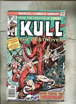 Kull The Conqueror #17-1976 fn Kull The Destroyer