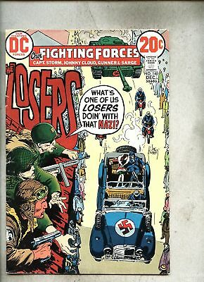 Our Fighting Forces #140-1972 fn- Losers Joe Kubert