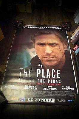 PLACE BEYOND THE PINES RYAN GOSLING 4x6 ft Shelter Movie Poster Original 2013