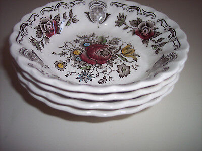 """Myotts """"Bouquet"""" Made In Staffordshire, England 5"""" Bowl"""