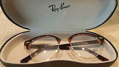 1d839a54d4d RAY BAN RB 4246-V 2372 Eyeglass Frames Havana Gold 47 19 140 New ...