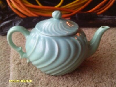 Franciscan coronado Teal Turquoise Teapot made in CA USA