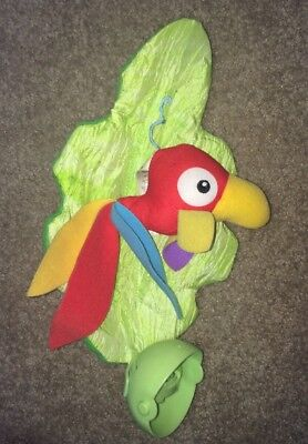 Rainforest Jumperoo parrot hanging toy replacement toy Fisher price
