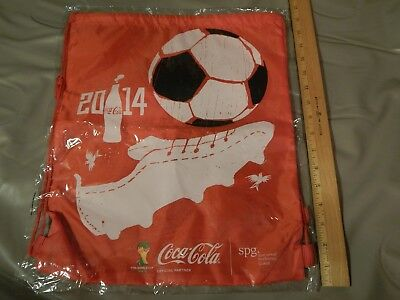2014 FIFA World Cup ~Coca-Cola~ TOTE BAG _Ltd Promo_ *NEW*NOS* Futbol_Soccer