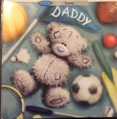 Father S Day Daddy Card Me To You Clintons New Tatty Teddy Football