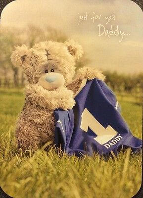 Father S Day Card Daddy Me To You Clintons New Tatty Teddy Football