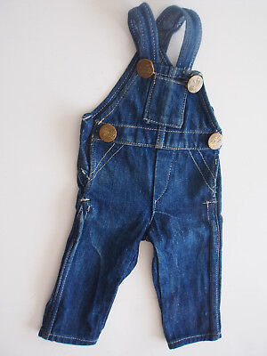 Old Vintage THE PENNY UNION MADE Denim Jeans Overall~For Like Buddy Lee Doll ?