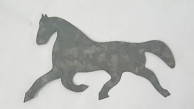 Running Horse Sheet Metal Template Cut-Out - Crafting, Quilt Making, or Display