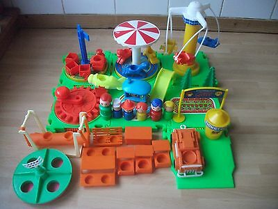 Whirly  playground by Winfield  1970s starter kit no.2 with extras,Rare collecto