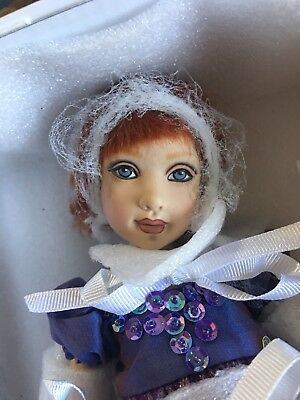 Elderberry Tree Fairy— Helen Kish—Beautiful Doll-Sold Out — NRFB- Porcelain LE