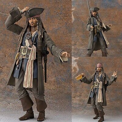 Jack Sparrow Fluch der Karibik Action Figur Johnny Depp Sammler Film Figuren Neu