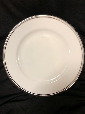 "Royal Doulton Royal Platinum Bread Butter Plate 6 1/2"" Great Condition! Free S/H"