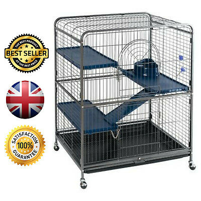 Perfect Cage for Small Pets Ferrets Chinchillas Degus and Rats