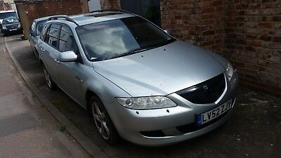 Mazda 6 2002 4x4 estate very rare in automatic  !!