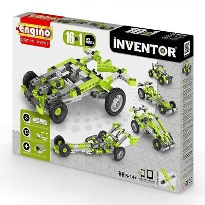 Engino - Inventor - 16 in 1 Car Models