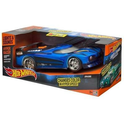 Hot Wheels Hyper Racer - Lights & Sounds Spin King