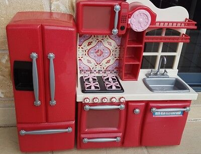 Our Generation Play Kitchen And Refrigerator