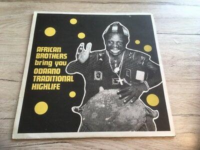 LP GHANA VINYL PRESS 1976 African Brothers – Odaano Traditional Highlife