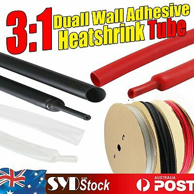 Dual Wall Heat Shrink Tubing Glue Line 3:1 Heatshrink Cable Sleeving Insulation
