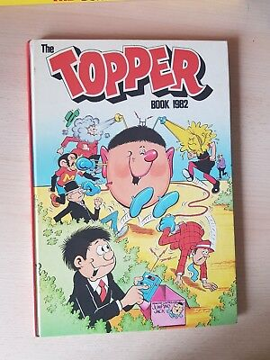 The Topper 1982 Vintage Annual Comic Hardback nearly mint  see photos plz