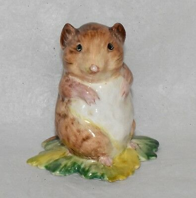 Beswick Beatrix Potter Timmy Willie from Johnny Town Mouse BP1a 1949 GOLD CIRCLE