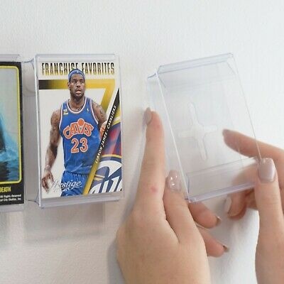 CardMount™ Trading Cards Stand and Wall Mount Frame, Invisible Display