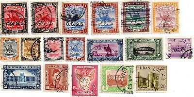 commonwealth stamps, north african
