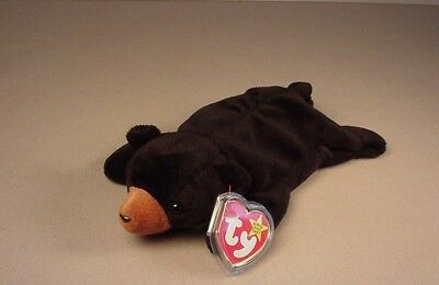 0487d52b88d Ty Beanie Baby Babies Blackie Bear Black bear Mint with Tags MWT NWT 1993