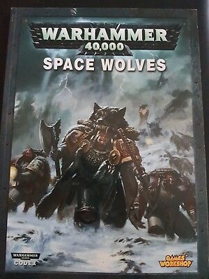 Codex Space Wolves 5.Ed, WH40K