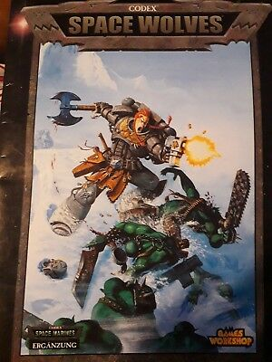 Codex Space Wolves 3. Edition, WH 40K