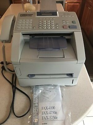 Brother IntelliFax 4750E All In One Laser Printer Copier Scanner Fax machine