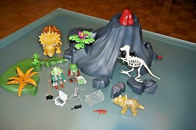 2 Playmobil Dinosaurier Sets 4170 + 4172