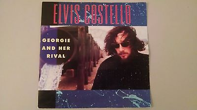 "VERY RARE Georgie and Her Rival ELVIS COSTELLO 7"" 45 German Germany unique PS"