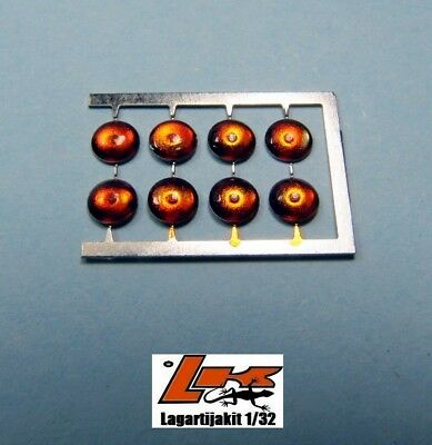 LIGHTS 3 mm PHOTO ETCH ORANGE 8 UNITS  FAROS RESIN KIT FARO NARANJA LIGHT