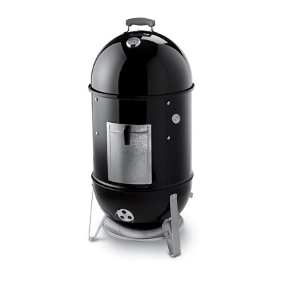 Weber 721001 Smokey Mountain Cooker 18-Inch Charcoal Smoker, Black, grill, bbq