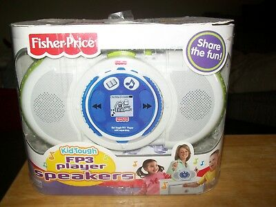 Fisher Price Kid Tough Fp3 Player Speakers New Lqqk