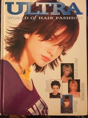 Ultra World Of Hair Hard Cover Salon Style Book