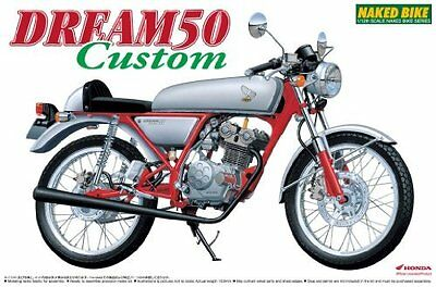 Aoshima 045077 NAKED BIKE 37 1/12 Honda DREAM 50 Custom Rare from Japan