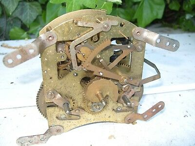Clock Parts  Working F6G 592  Smiths  Movement  Striking   Floating  Balance