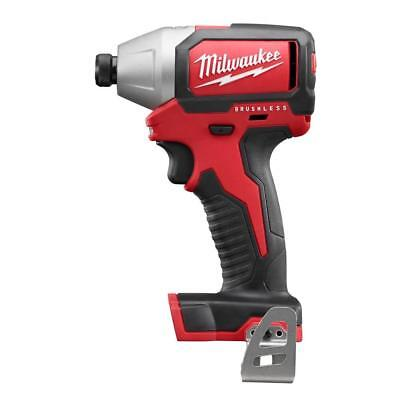 "Brand New Milwaukee M18 18V 1/4"" Hex Brushless Impact Driver (Bare Tool) 2750-20"