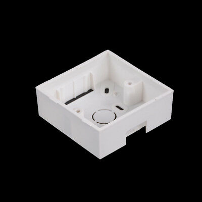2pcs Cassette Universal White Wall Mounting Box EP*