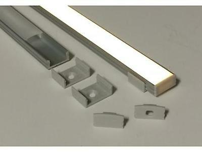 Slim Line LED Strip Mounting Profile 1m length