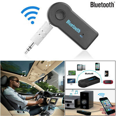 Wireless 3.5mm AUX EDR Audio Stereo Music Home Car Bluetooth Receiver Adapter