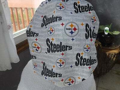 Bouffant surgical scrub hat, cap, NFL, football,pittsburgh steelers, white
